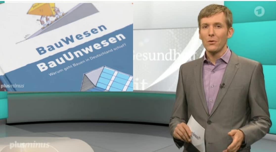 Anmoderation Stuttgart 21 ARD Beitrag
