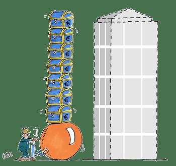 Planen und Bauen mit zuwenig Budget