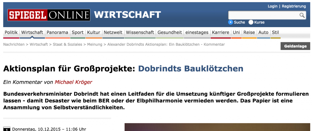 Reformkomission Spiegel Dobrindt