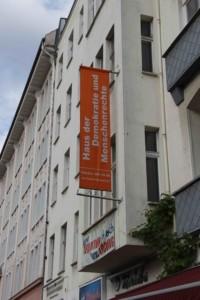 front Haus der Demokratie - Buergerinitiave