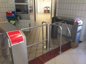 WCs auf Bahnhöfen