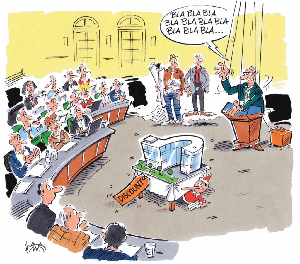 Bürgschaft und Bauleute geben geben budgetierte Elbphilharmonie Kosten frei