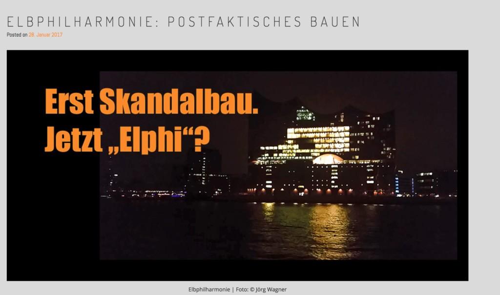 Elbphilharmonie Bild Jörg Wagner