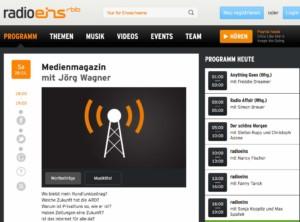Radio Eins Medienmagazin Web